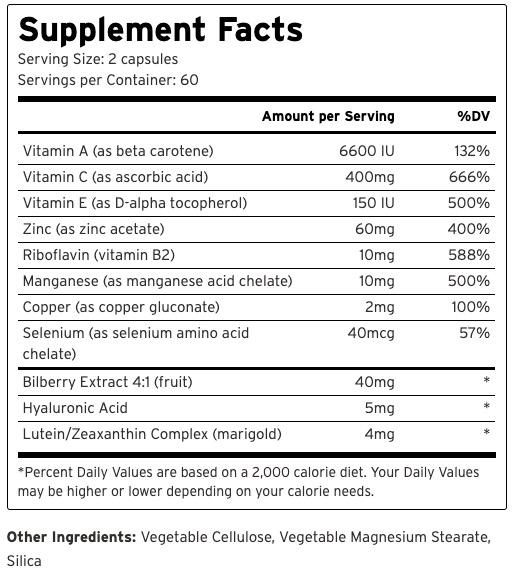 HylaVision Ingredients